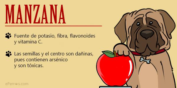 perros y manzanas