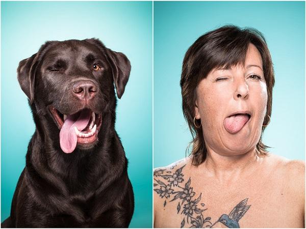fotos con la lengua afuera