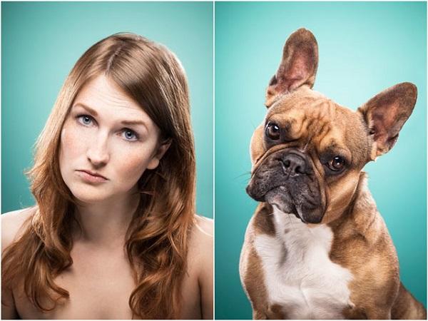 foto misma cara que su perro