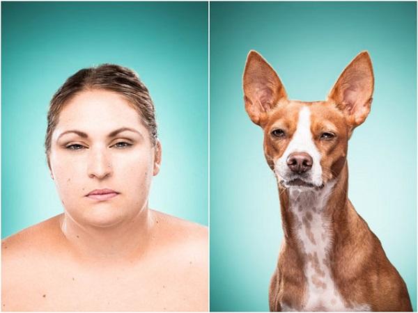 foto de gente que se parece a su perro