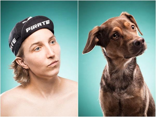foto de perros que se parecen a sus dueños