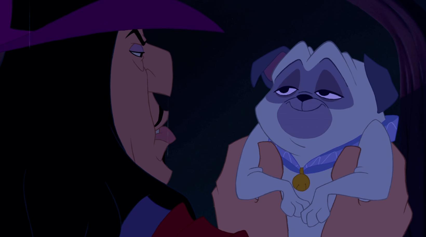 Percy, el simpatíco perro de la película de dibujos de Pocahontas