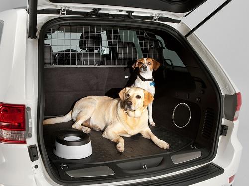 Rejas para viajar con seguridad en el coche con perros
