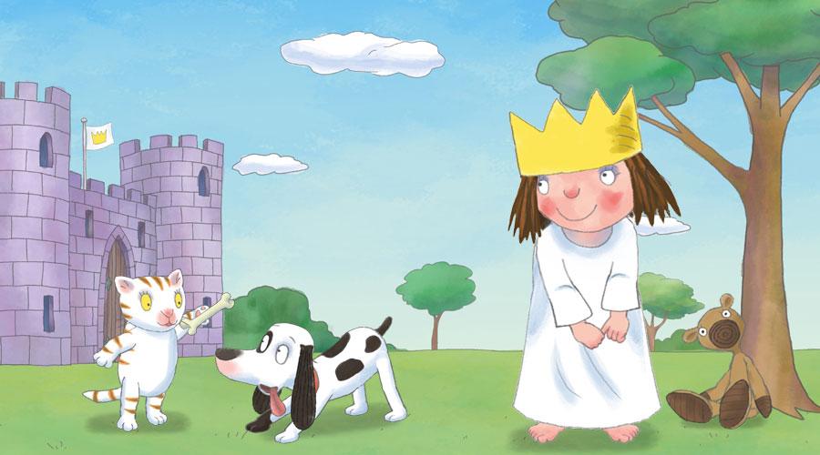 Fido el perro de la serie Little Princess