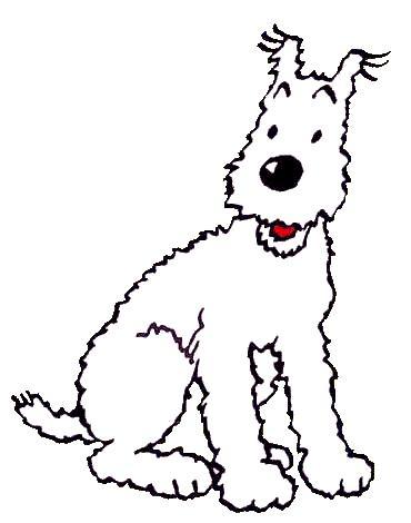 Milú, otro de los perros de dibujos más famoso