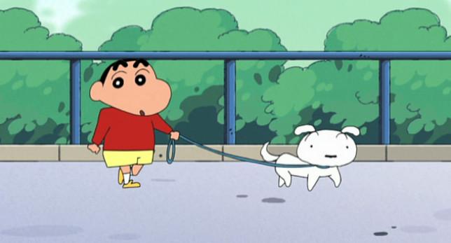 Nevado, el perro de Sin Chan