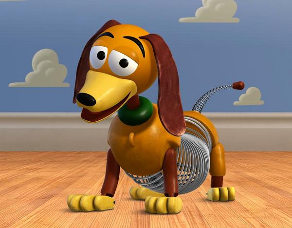 Slinky, el perro de juguete de Toy Story
