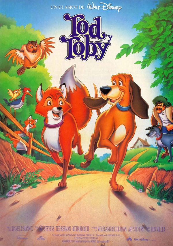 Toby, otro perro de dibujos de películas made in Disney