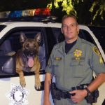 Nicky, un perro del K-9 capaz de detener a un delincuente tras ser atacado con un machete
