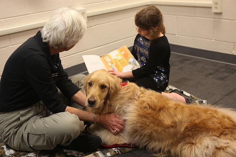 ¿Pueden los perros ayudar a los niños a leer?
