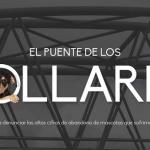 El puente de los collares, símbolo de amor eterno, pero a los perros