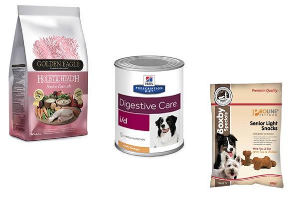 Cestas de navidad para perros ancianos con los mejores productos de alimentación