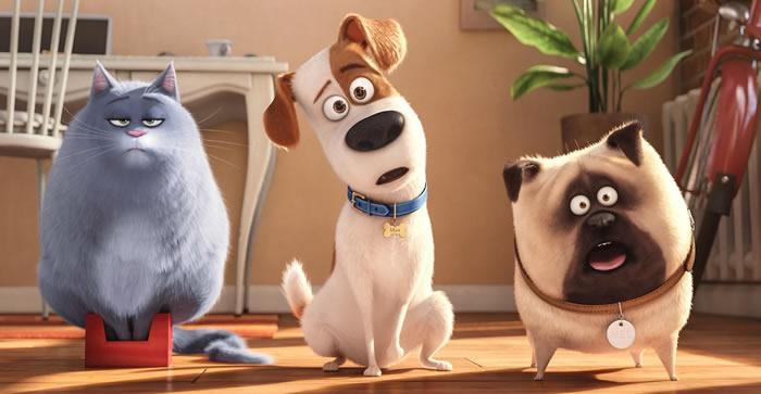 Mascotas, película de dibujos animados con perros muy divertida